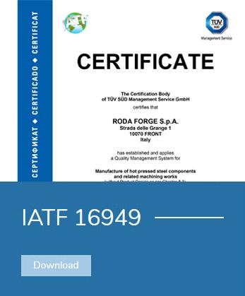 iatf 16949 rodaforge