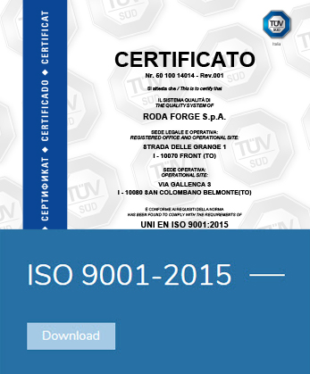 iso 9001-2015 rodaforge